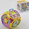 Куб музыкальный Learning Hous обучающий, подсветка, 7 граней
