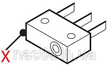 5132105400 Мікроперемикач(наявності піддону, відкриття двері, та на кран пару), DeLonghi