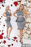 Стильное платье   (размеры 48-52) 0245-46, фото 4