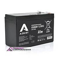 Акумуляторна батарея Azbist ASAGM-12V 7Ah 0F2