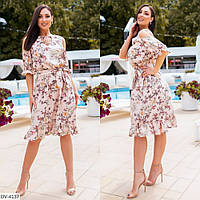 Стильное платье   (размеры 48-54) 0245-47