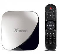 Android Box смарт приставка X88 PRO 4/32GB 4K Smart TV