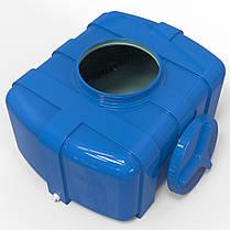 Емкость пластиковая прямоугольная 200 л Овал, фото 2