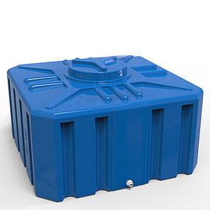 Ємність, бак 500 л. прямокутна Куб, фото 2