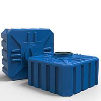 Емкость, бак 500 л. прямоугольная Куб, фото 3