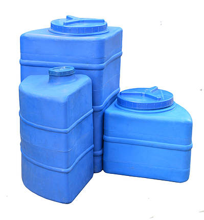 Пластиковая емкость для воды угловая 100 л, фото 2