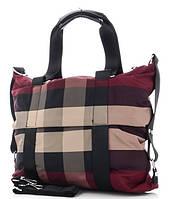 Жіноча тканинна сумка 8501 bordo Тканинні сумки недорого, текстильні сумки