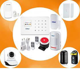 Беспроводные GSM сигнализации и комплектующие