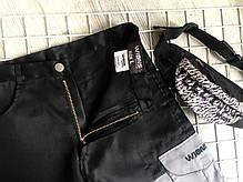 Чоловічі шорти чорно-сірого кольору з кишенями, фото 3