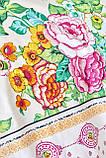 Комплект постельного белья с покрывалом Pike TM Karaca Home Irini Fuşya, фото 2