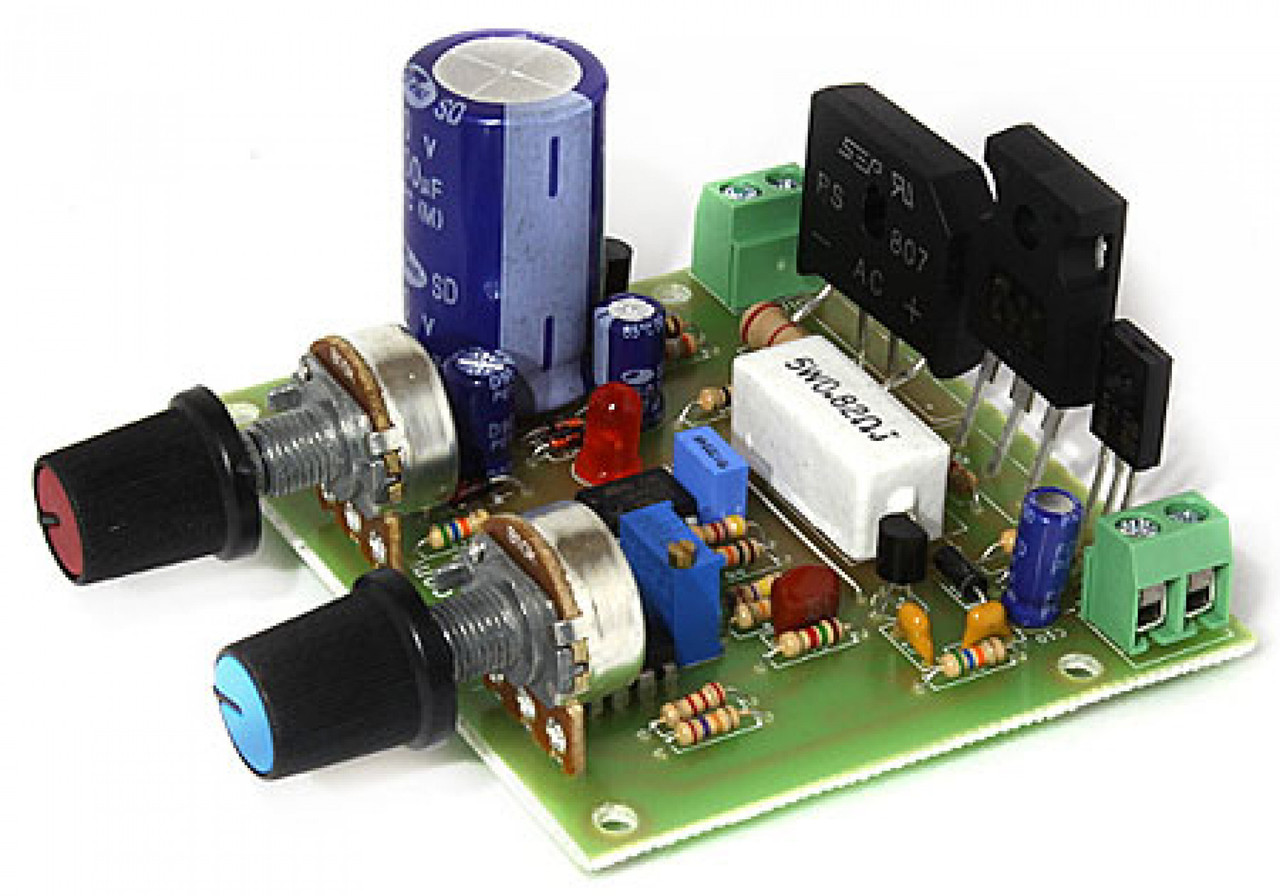 Радиоконструктор лабораторний блок живлення: U=0-30V, Im=3A RadioKit K178