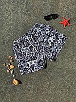 Шорты мужские купальные зеленого цвета, фото 2