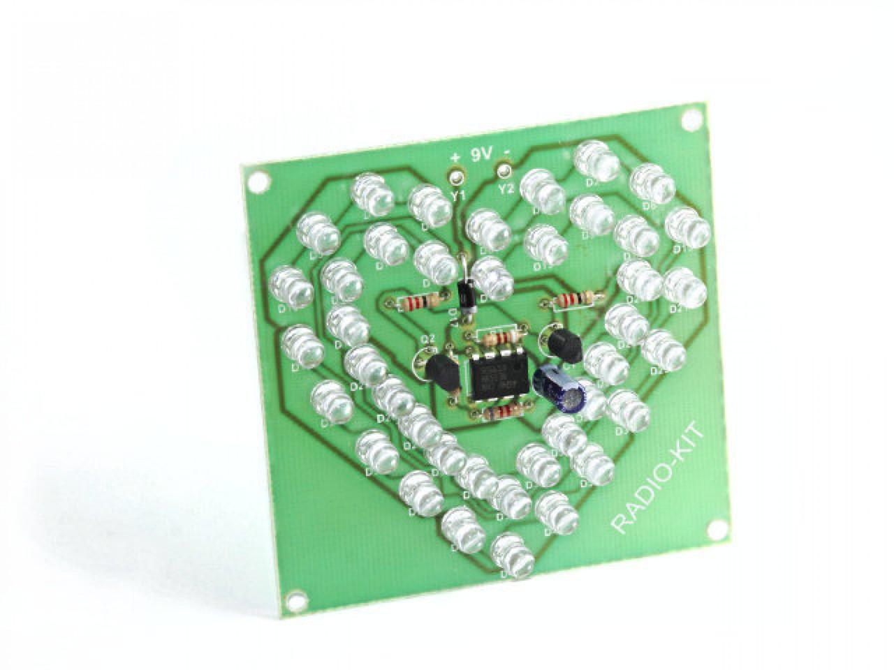 Радиоконструктор Пульсуюче серце K204.1