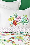 Комплект постельного белья с покрывалом Pike TM Karaca Home Irini Fuşya, фото 3