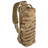 Тактическая однолямочная сумка-рюкзак Mil-tec Танкер15 литров мультикам