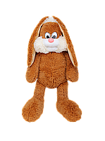 Мягкие игрушки Плюшевый зайчик Несквик 75 см коричневый