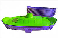 Дитяча пісочниця Кораблик Doloni toys з лопаткою, фото 1