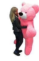 Мягкие игрушки Большой плюшевый медведь 180 см розовый