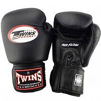 Боксерские перчатки Twins Special BGVLA-2 Air Flow 12, 14 и 16 унций тренировочные, кожаные перчатки для бокса