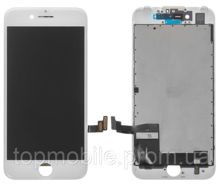 Модуль iPhone 7, белый копия высокого качества ( дисплей, сенсор, стекло, экран)