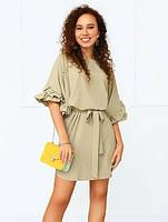 Летнее платье свободного фасона 031 В/01, фото 1