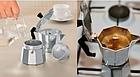 [ОПТ] Гейзерная кофеварка -3 чашки, фото 4