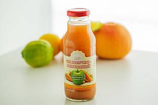 """Сік """"Яблучно - морквяний 0,3л ТМ Солодка Мрія"""