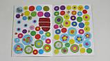 Детская книга развивающие наклейки для малышей украинский язык павлин 5031, фото 3