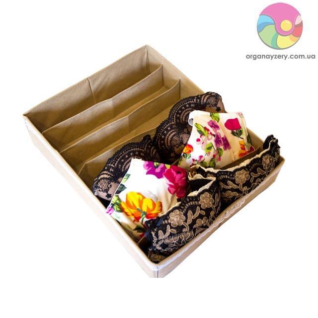 Коробка для бюстиков (бежевый)