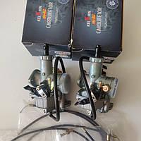 Карбюраторы PZ30 на мотоцикл МТ Днепр Урал с ускорительным насосом ручной дроссель  4T CB/CG 250 с троссами