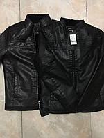 Мужская кожаная куртка. Модель 18136, фото 10
