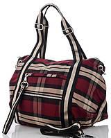 Жіноча тканинна сумка 6231 bordo Тканинні сумки недорого, текстильні сумки