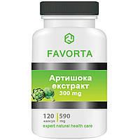 Добавка дієтична «Артишоку екстракт» капсули 590 мг/120шт