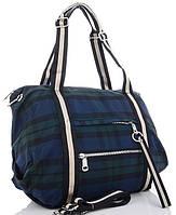 Женская тканевая сумка 6231 blue Тканевые сумки недорого, текстильные сумки, фото 1