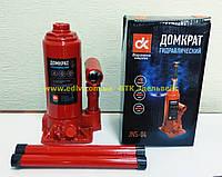 Домкрат бутылочный 4т красный H=185/350  JNS-04
