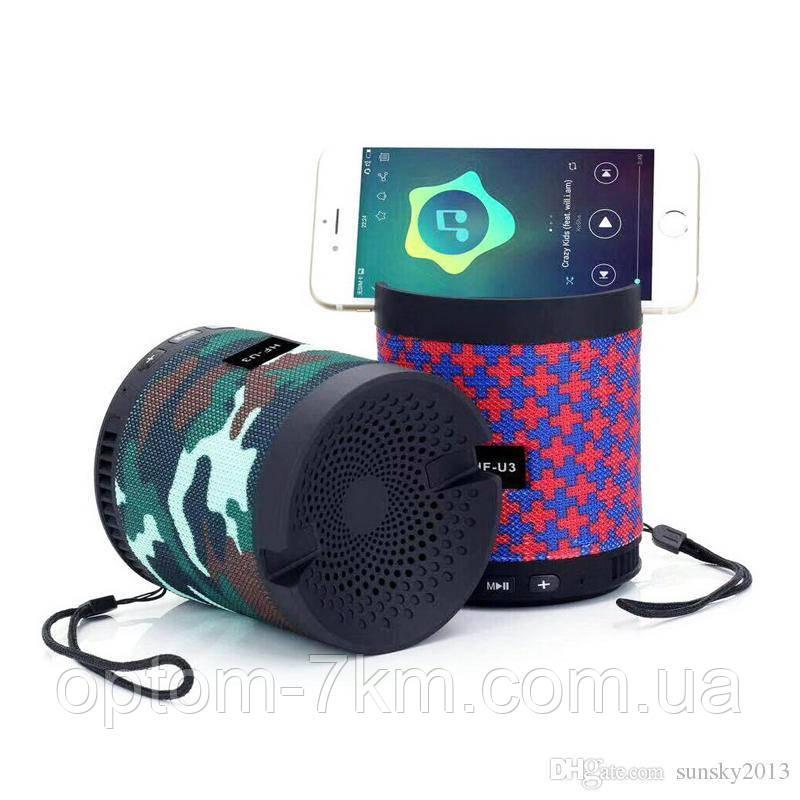 Портативна Акумуляторна MP3 Колонка Speaker Small - HF U3 am