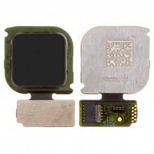 Шлейф Huawei P10 Lite (WAS-L21) с сканером отпечатка пальца, черного цвета