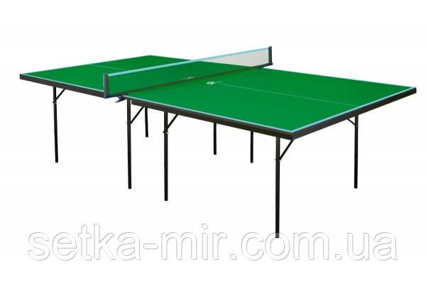 Теннисный стол GSI-sport Hobby Strong зеленый