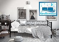 Металлический диван-кровать Амарант 80х190см Тенеро