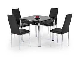Стіл розкладний KENT чорний 80(130)х80 (Halmar)