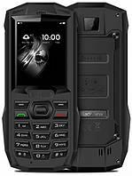 Телефон противоударный блеквью с камерой и фонариком на 2 симки Blackview BV1000 black IP68
