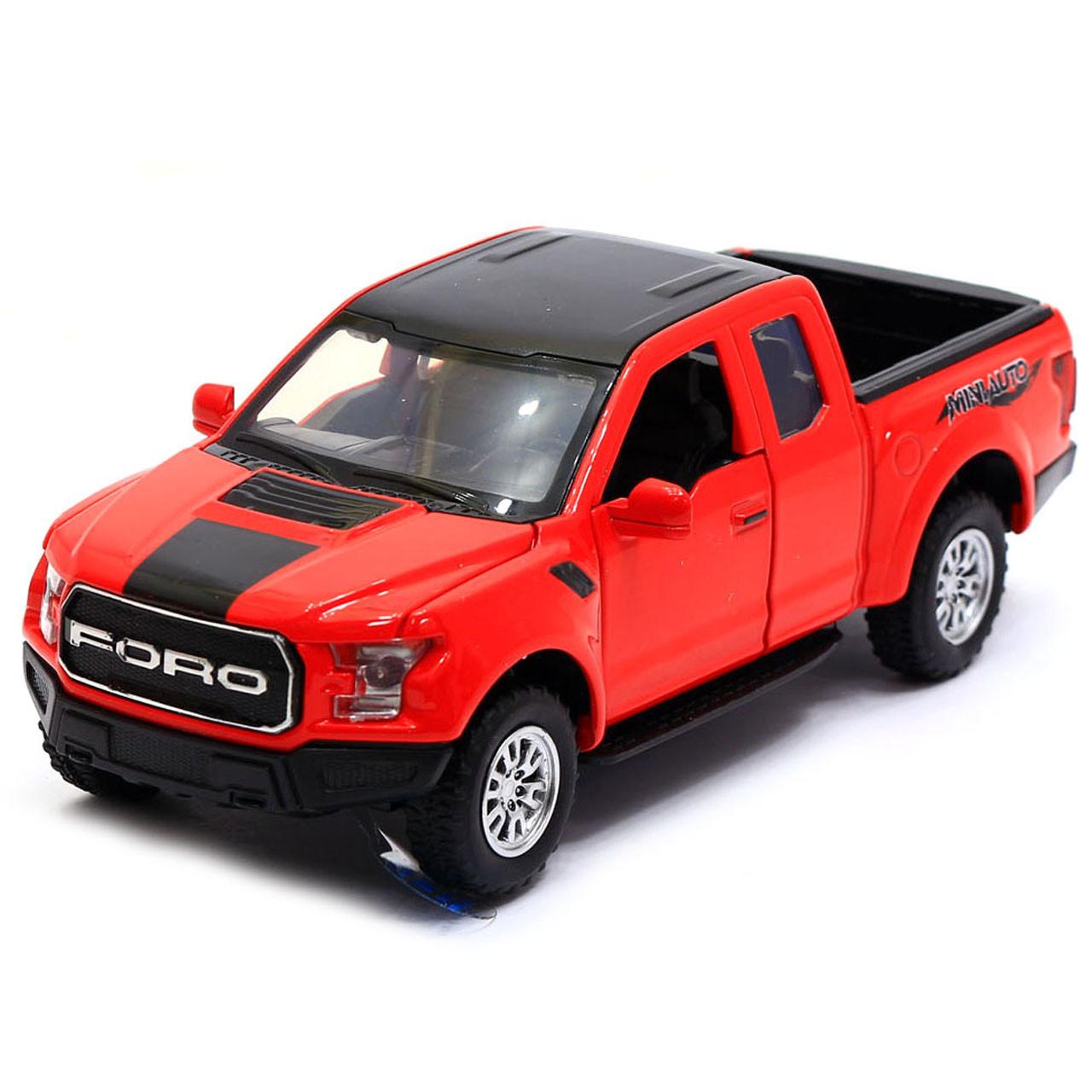 Машинка игровая Автопром «Ford F-150» Красный (7864)