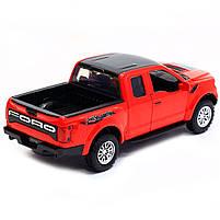 Машинка игровая Автопром «Ford F-150» Красный (7864), фото 3