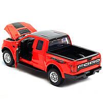 Машинка игровая Автопром «Ford F-150» Красный (7864), фото 4