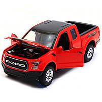 Машинка игровая Автопром «Ford F-150» Красный (7864), фото 5