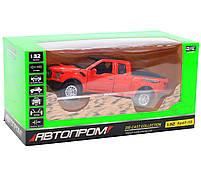Машинка игровая Автопром «Ford F-150» Красный (7864), фото 6