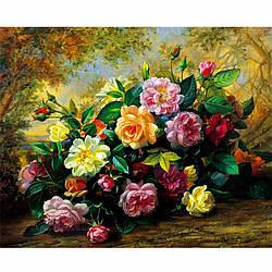 Картина по номерам 40*50 см сложность 3 Цветы