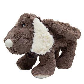 М'яка іграшка Собака-сумочка коричнева зі світлими вухами, 30 см (X1617930-1)