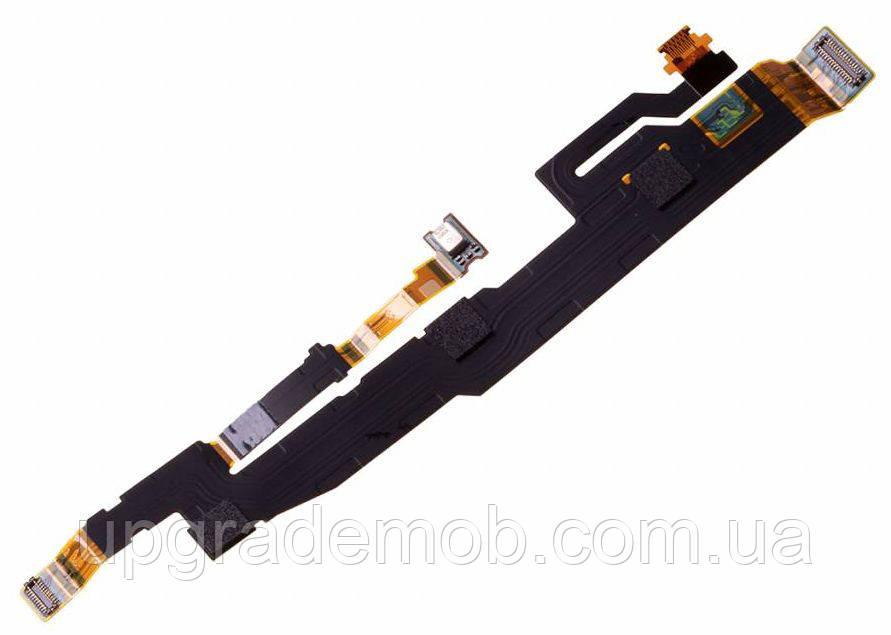 Шлейф Sony H8216 Xperia XZ2/H8266/H8276/H8296, с датчиком освещенности, с микрофоном