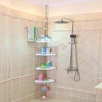 Угловая многоуровневая полка для ванной Multi Corner Shelf, фото 3